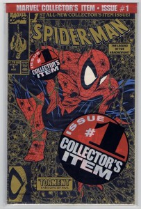 Spider-Man Gold Bagged Error Edition
