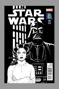 amanda-conner-star-wars-variant-cover-marvel-comics-darth-vader-leia-new-hope-episode-iv-cover-art-sketch-variant-black-and-white-sketch-cover-2-198x300