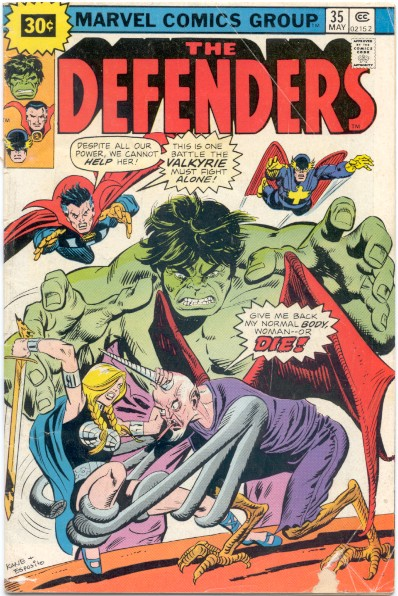 Defenders #35 - 30 Cent Variant